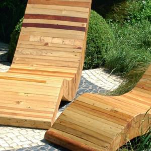 Holz und Metall